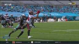 Tom Brady responde con Brate para el TD de Tampa Bay