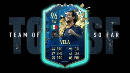 Por fin salieron los TOTS de la MLS y los encabeza Carlos Vela, el mexicano ha sido el mejor de todos la temporada pasada y también arrancó con gol en este año. Es el mejor rankeado.
