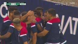 Gran gol Jairo Bueno para la ventaja a República Dominicana