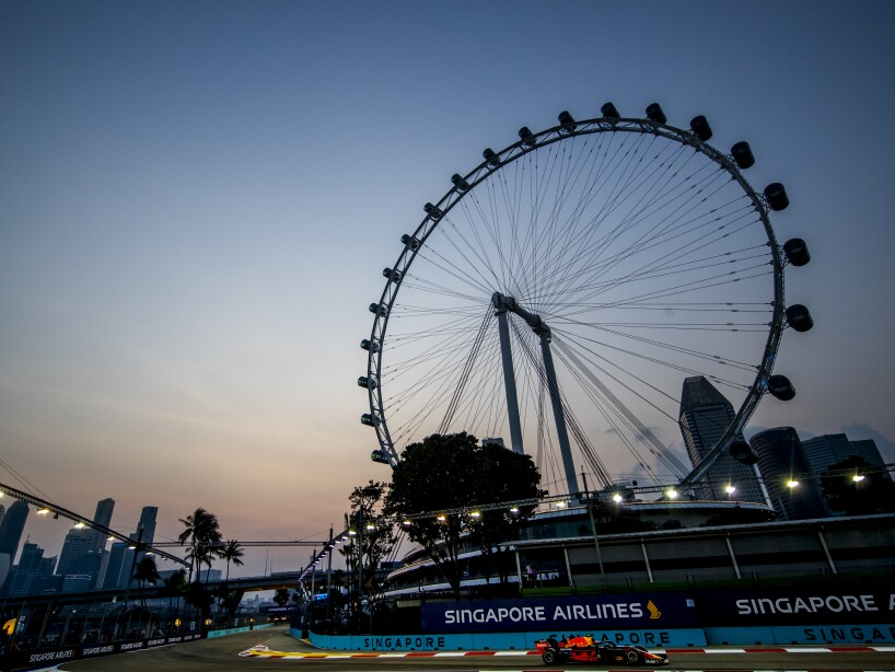 F1 Grand Prix of Singapore - Final Practice