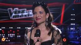 Natalia Jiménez se reencontró con el público mexicano gracias a La Voz… México