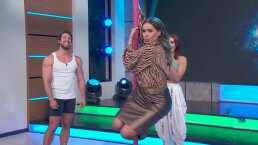 María León le dio lecciones de 'pole dance' a Galilea Montijo