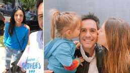 Mira cómo Mauricio Ochmann celebró el día del padre al lado de sus hijas y Aislinn Derbez