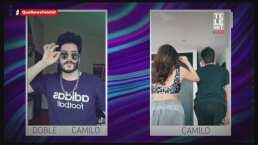 Conoce al 'gemelo perdido' de Camilo con todo y su bigote idéntico