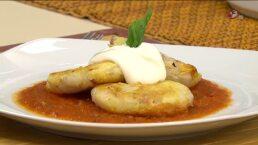 Cocina Chef Gibaja Tortas de papa con tocino y jamón