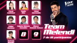Ellos son los nuevos integrantes del Team Melendi