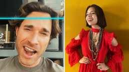Sebastián Rulli se pone a 'cantar' al ritmo de Ángela Aguilar con gracioso reto de TikTok