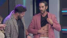 Pedro Prieto asegura que no es un 'inventado' y para comprobarlo enseña su abdomen de acero