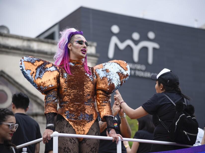 Amor, colores y diversidad: Las mejores imágenes de la Marcha del Orgullo en CDMX