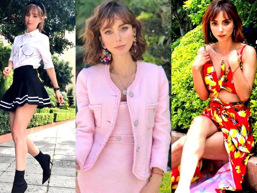 Perfil fashionista de Natalia Téllez en 15 looks