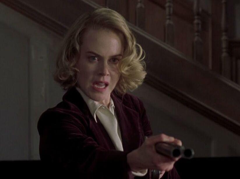 13. Nicole Kidman: En Los Otros (2001) algunos fantasmas no saben que están muertos, como esta rubia ex de Tom Cruise.