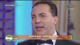 Cristian Castro volverá a los escenarios tras matrimonio express