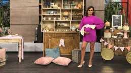 Así celebró Tania Rincón su 'baby shower' en el programa 'Hoy'