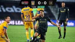 ¡Intenso partido! Tigres y LAFC pelean por el título