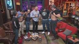 Los Miembros enseñan su abdomen y Diego Di Marco les dice qué tan 'fit' o 'fat' están