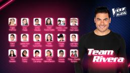 Carlos Rivera completa su equipo con estas nuevas voces