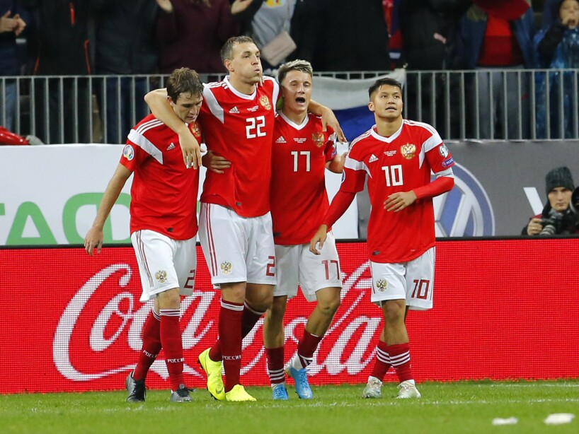 Russia Scotland Euro 2020 Soccer