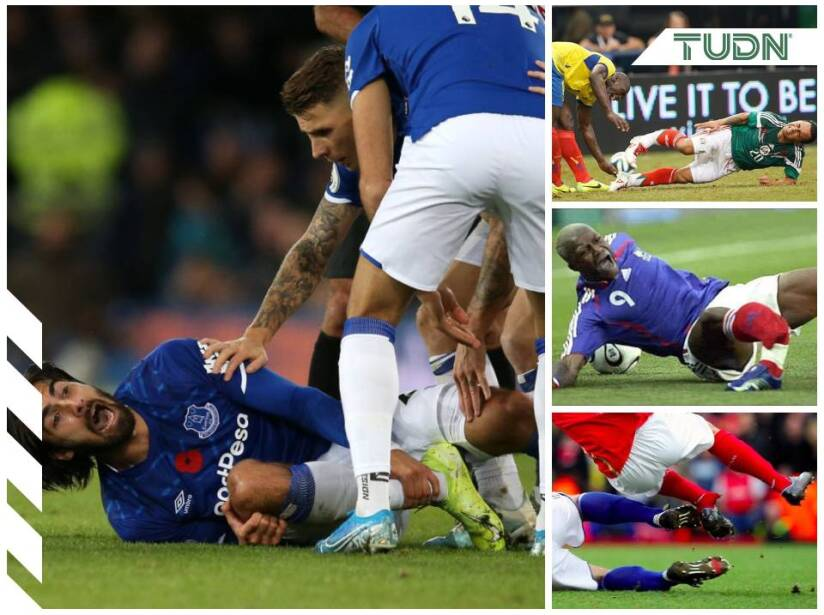 Las lesiones del futbol que nos conmocionaron