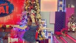 Odalys Ramírez presume su decoración navideña: de los nombres de sus hijos al buzón de Santa