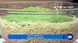 Cocina Espagueti Poblano