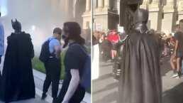 Batman también se apareció en las protestas del Capitolio de EEUU y se hizo viral en redes sociales
