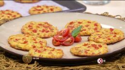 Receta: Pizza bites sin gluten