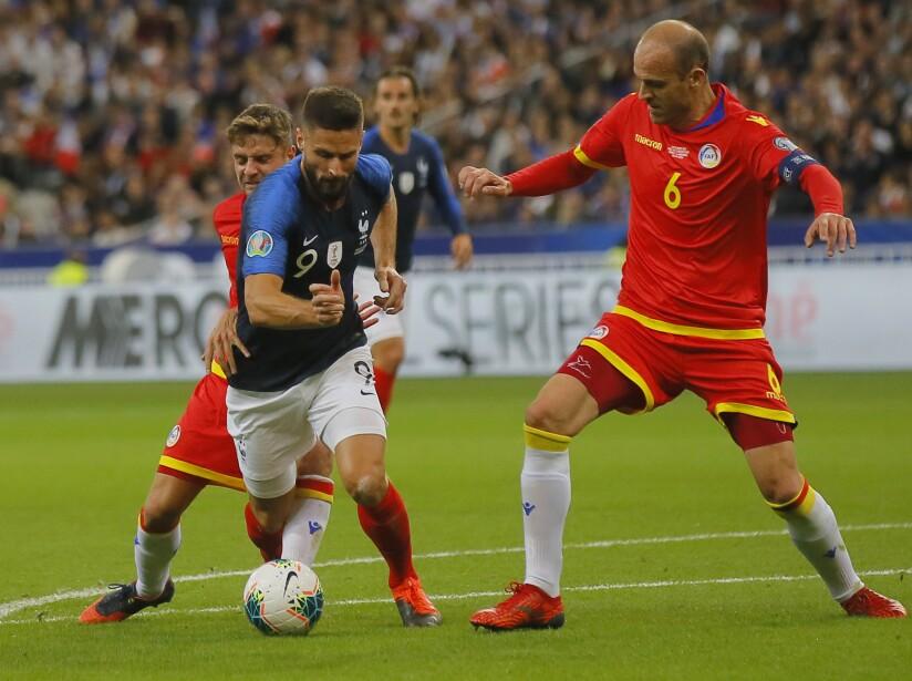France Andorra Euro 2020 Soccer