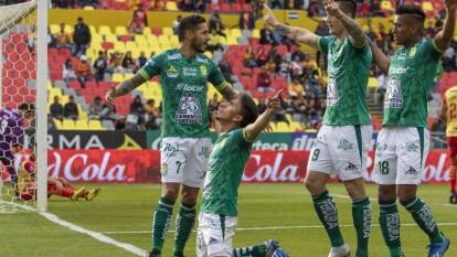 Con goles de Ángel Mena y Jean Meneses, León gana y se lleva los tres puntos a casa.