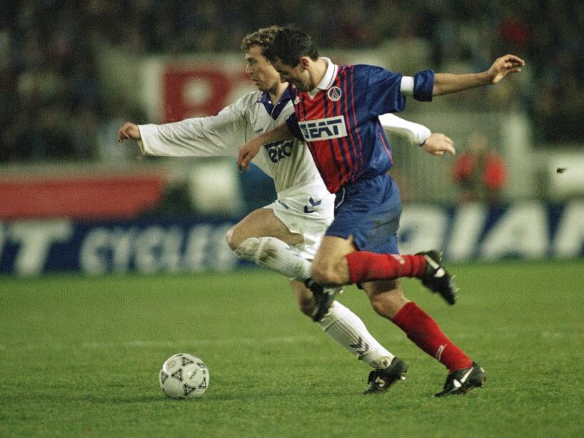 Winners Cup Real Madrid Paris St Germain 1994