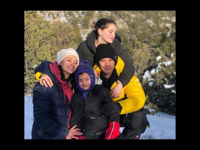 Las fotos más tiernas de Joy Huerta, su hija y familia