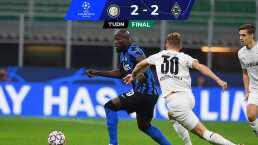 Inter casi cae ante el Gladbach, pero Lukaku entró a escena