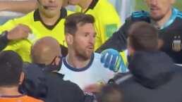 Argentino y fanático de Messi, el que encaró a la 'Pulga'