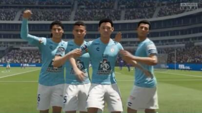 Álvarez, comandando a Pachuca, se levantó de un 2-0 para hundir a los cementeros en el futbol virtual.