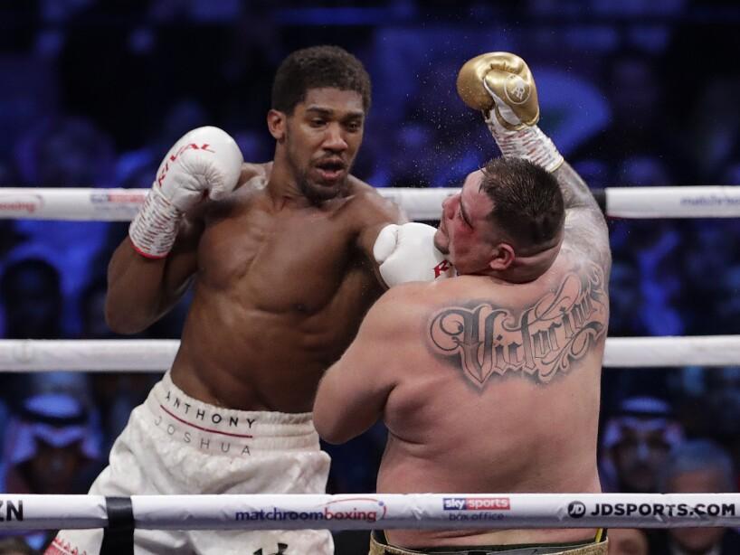 Saudi Arabia Boxing Ruiz Joshua