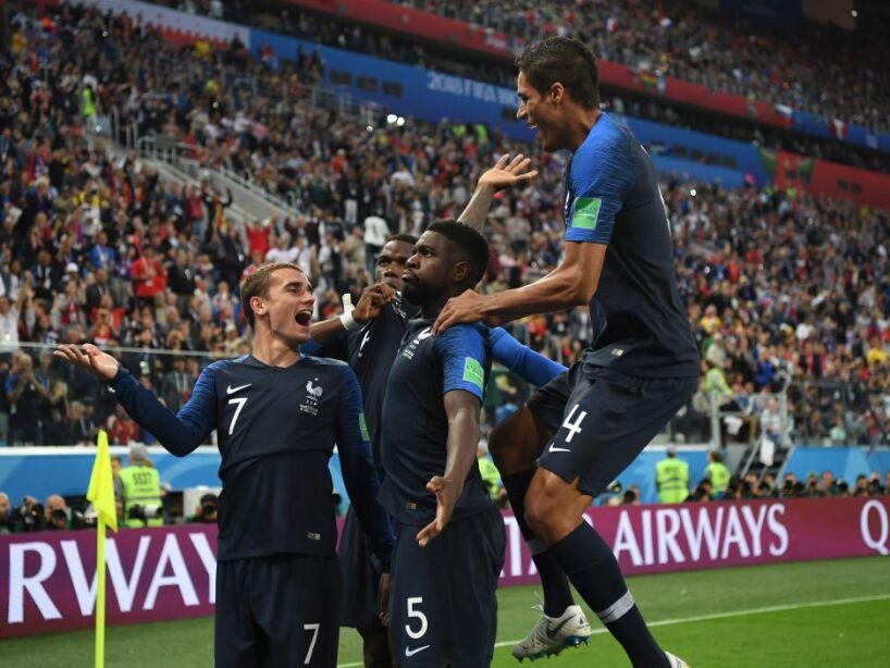 Francia vs Bélgica, en imágenes