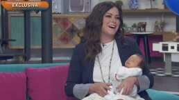 Lucca, el hijo de Mariana Echeverría, hace su debut en televisión