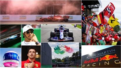 Charles Leclerc ganador del Gran Premio de Italia de la Formula 1.