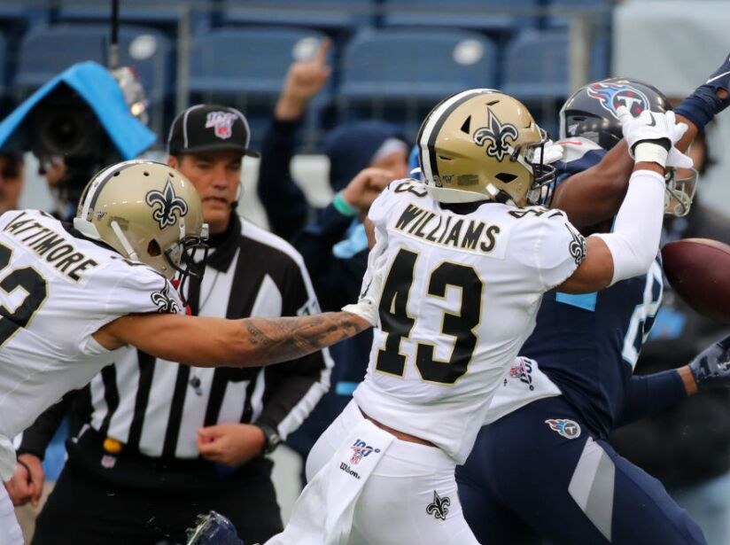 New Orleans Saints v Tennessee Titans
