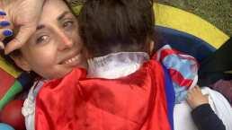 """Zuria Vega muestra cómo su hija le exige que ella la duerma: """"Quiero que tú mi muemas"""""""