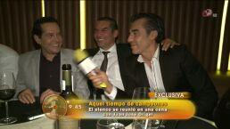 Juan José Origel ofeció una gran cena