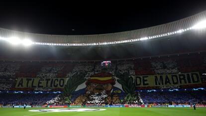 El mejor tifo de la primera jornada de Octavos de Final de la UEFA Champions League.