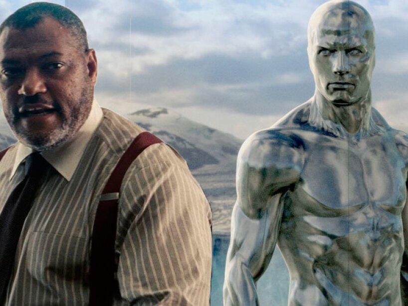 Laurence Fishburne dio voz a Silver Surfer y dio vida a Perry White en Man Of Steel.