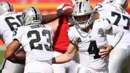Raiders cambian de horario para el domingo en la NFL