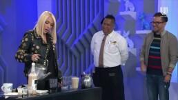 ¡Toda una experta! Yuri muestra cómo es que se sirve una taza de café en Veracruz
