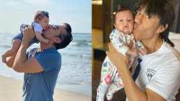 Adrián Uribe y sus momentos más tiernos al lado de su bebita, Emily