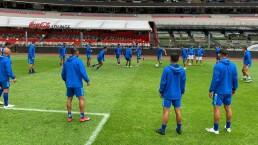 Guatemala entrenó en el Estadio Azteca para enfrentar al Tri