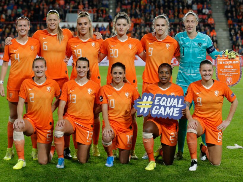 Netherlands v Russia - UEFA Women's Euros 2021: Qualifying