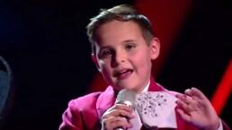 Ponchito Sandoval saca sonrisas a todos en La Voz Kids