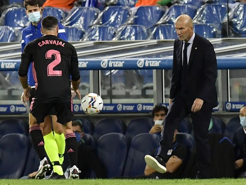 Zinedine Zidane, Dani Carvajal