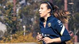 Sufre América baja de Renata Masciarelli; debutaría Fernanda Piña